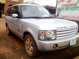 Registered 2005 Range Rover; Less than a year registered