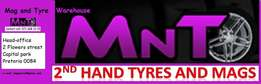 Second hand tyres and so much more to offer.