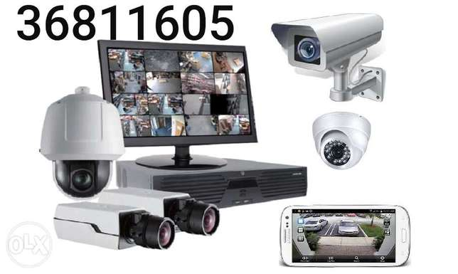 Good offer with fixing cctv camera call me