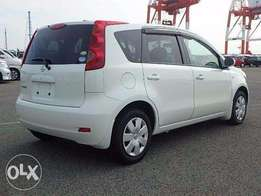 Nissan note 2010/8
