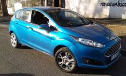 2015 ford fiesta 1.1 ecoboost automatic sport blue
