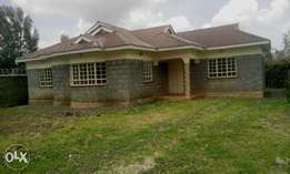 A 3 bedroom master en suite in Ongata Rongai.