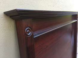 Solid wood headboard for sale - single bed
