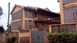 Two bedroom apartment for rent in Lower Kabete at Kshs 18500 per month