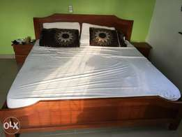 6 by 6 kingsize bed frame and mattress