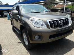 Toyota Land Cruiser Prado 2010. Diesel Automatic Sunroof Leather.