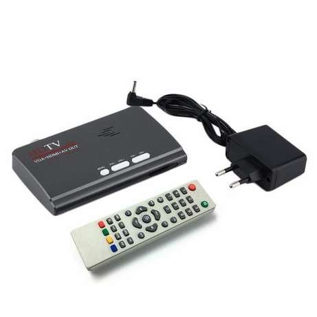 Brand New Digital Tv combo box. Watch over 200 Channels on your tft Nairobi CBD - image 1
