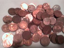 5c coins to sell (77coins in total)
