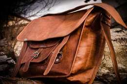 Leather Laptop Bag For Sale. Only R900.00