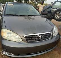 Tokunbo 07/2006 Toyota Corolla located in abuja