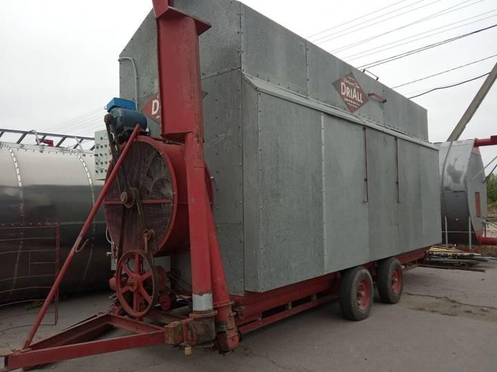 DriAll na propani 100 t/dobu mobile grain dryer
