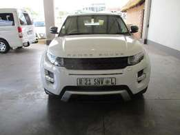 2012 Range Rover Evoque Coupe SD4 Dynamic for sale