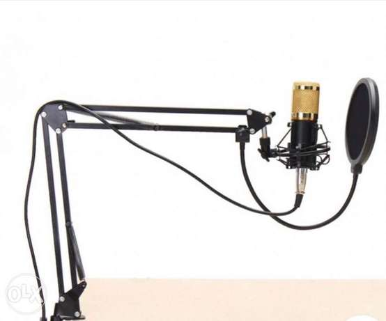 Condenser microphone with mixer special offer