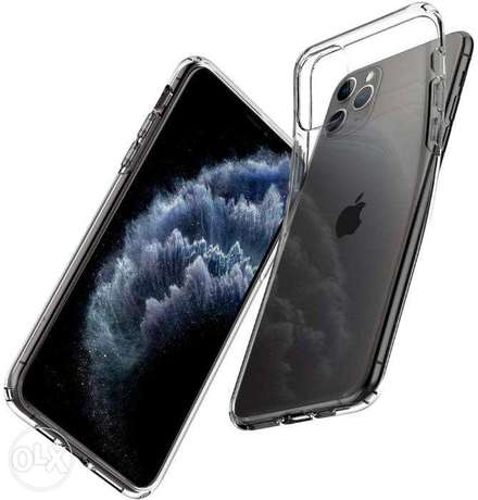 Crystal, Anti-Yellow, TPU Silicone Case for iPhone 11 Pro Max