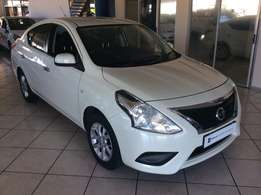 2015 Nissan Almera 1.5 Acenta For only R154995