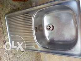 Stainless Single tray Kitchen Sink for sale