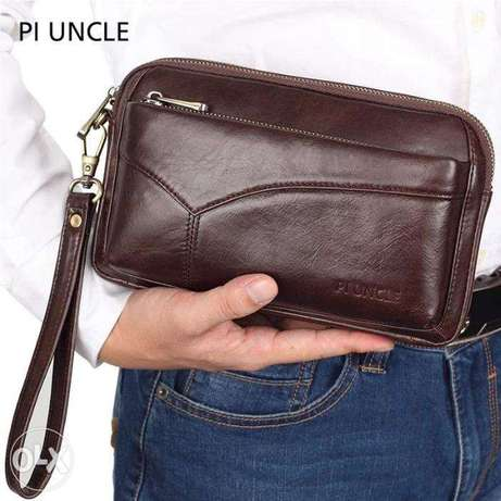 Bags Wallet High Quality Cowhide for Men Business and Purse Outdoor Co