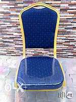 Brand New Blue Banquet Chair