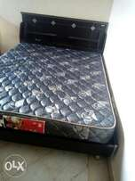 Bed and mattress