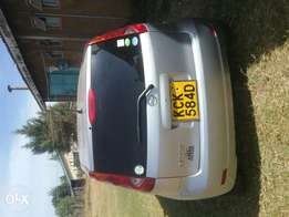 Nissan note kck on sale one year old on Kenyan roads.