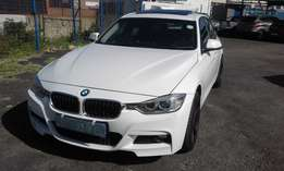BMW F30 320d Model 2012 Colour White 5 Door Factory A/C & MP3 Player