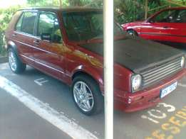1999 Vw citi golf 1.6