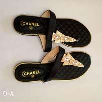 Channel sandals