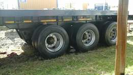 Double axel trailer for sale