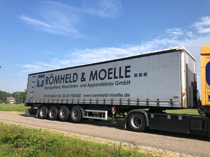 Schmidt 4 achse stahl , steel , balast , heavy load trailer - 2007