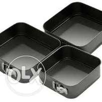 Baking Tins set of 3 Square Shape **KSh 2000**