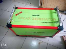 300 watts Solar Generator At N170,000 give away Price