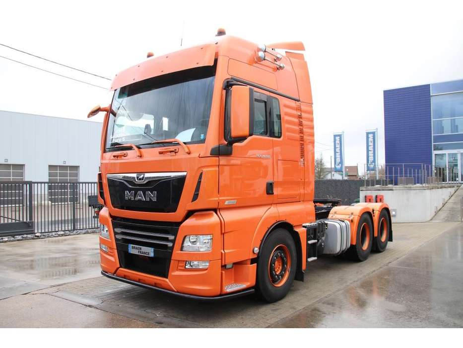 MAN TGX 28.580 BLLS EURO 6 - 10 tires - 2018