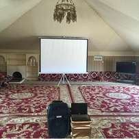 Affordabe brand new projector screens