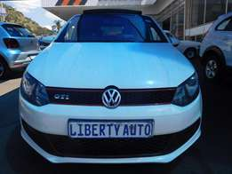 2013 Volkswagen Polo 6 1.4 GTi DSG Panoramic Sun Roof 71,316km Automat