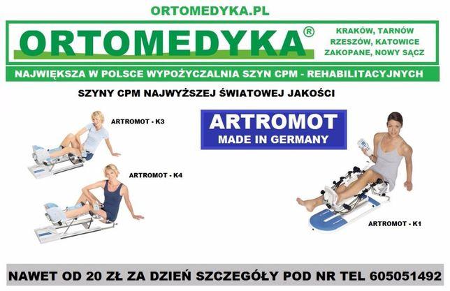 Topnotch Wypożyczalnia szyn rehabilitacyjnych ARTROMOT - Rzeszów Rzeszów QV47