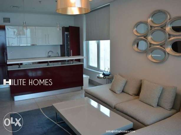 One bedroom Fully Furnished Apartment in Mangaf المنقف -  2