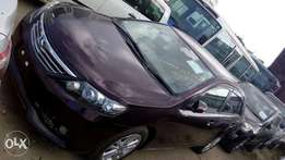 Toyota Alion new shape maroon colour fully loaded kcn