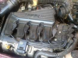 Fiat Palio 1.6 16v Engine and gearbox for sale