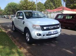 2014 Ford Ranger 4x4 3.2 6 speed xlt, mileage 59000 for sale