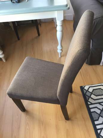 Set of 4 Modern High Back Chairs Strand - image 4