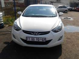Hyundai Electral LS 1.6 DSG 5 Door Colour Silver Model 2015 Factory A/