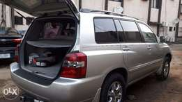 Clean & Sharp Tokunbo 2006 Toyota Highlander At Give Away Price