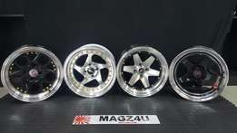 """MAGZ4U WHEEL AND TYRE EXPERTS. 15""""4x100 Mags Available in store."""