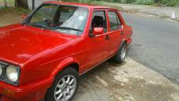 Vw fox 1992 model well lookt after.