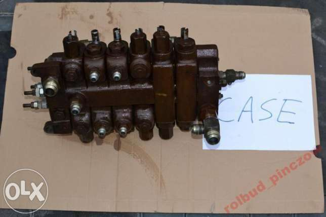 Case hydraulic distributor for 580 LPS backhoe loader for