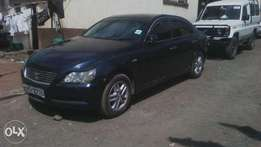 Toyota Mark X, KBS, auto, year 2005, accident free.