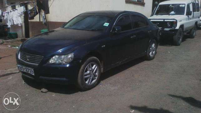 Toyota Mark X, KBS, auto, year 2005, accident free. Parklands - image 1