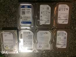 Sale Sale Sale:7 SATA Drives R2500