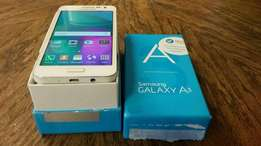 Samsung galaxy A3 with box and accessories