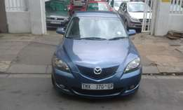 Mazda3 1.6 blue in color 2010 model 95000km R92000 full electric windo